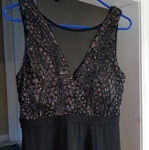 Prom/Homecoming/Semi Dress Black, Nude